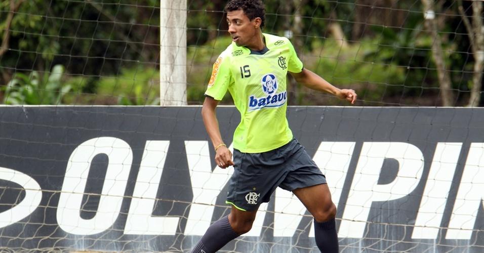 Kleberson, volante do Flamengo