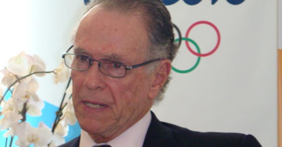 Carlos Arthur Nuzman durante reunião em Londres