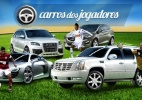UOL Esporte mostra quais são os carros favoritos dos jogadores