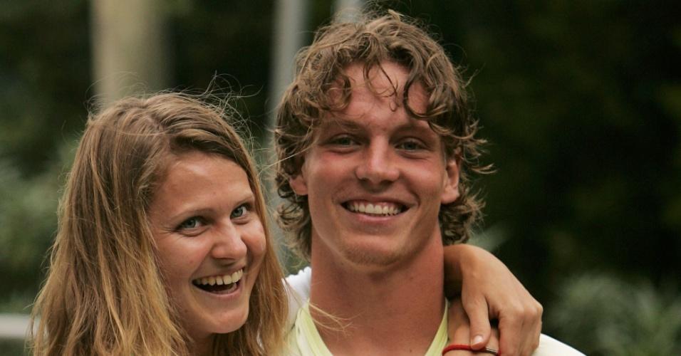 Casal de tenistas: Lucie Safarova e Tomas Berdych