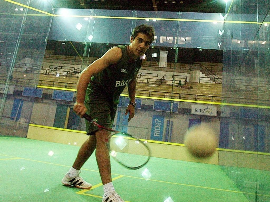 Squash também será disputado no Pan-2011