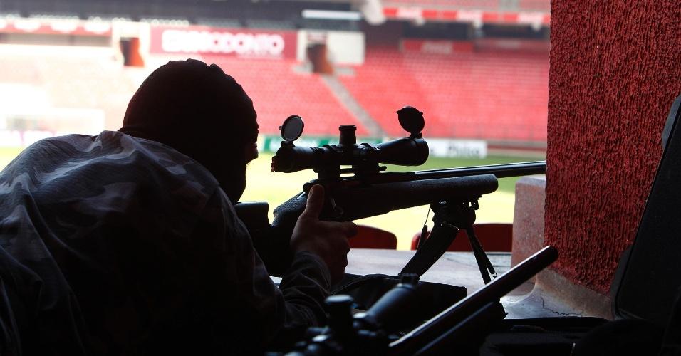 De acordo com o Coronel da Polícia Militar do Paraná, Marcos Scheremeta, o treinamento da corporação é contínuo