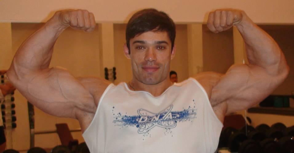 Lucas di Santi, brasileiro campeão mundial de fisiculturismo