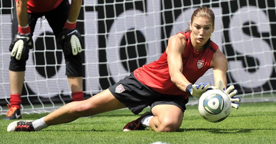 Melhor goleira do mundo, Hope Solo virou queridinha dos homens no mundial da Alemanha