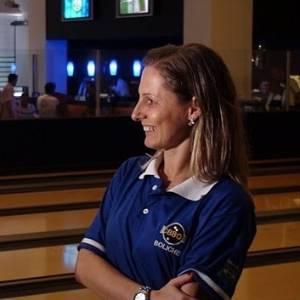 Marizete Scleer, jogadora de boliche
