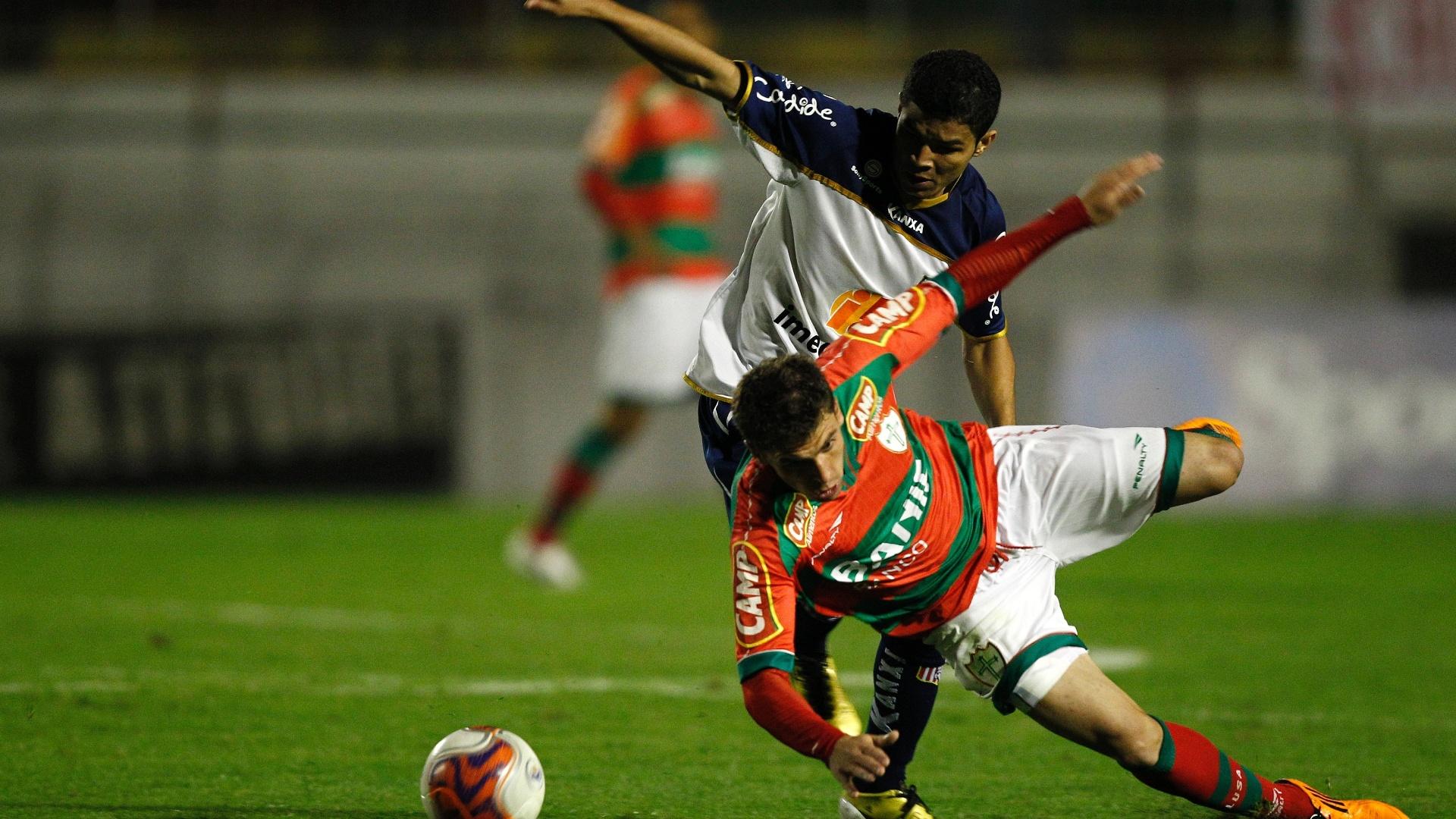 No Canindé, Portuguesa e Americana fizeram duelo entre duas equipes bem colocadas na Série B