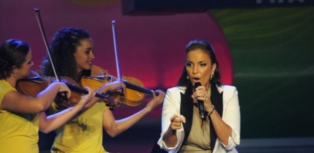 Ivete Sangalo se apresenta com Orquestra Sinfônica de Heliópolis e não empolgou