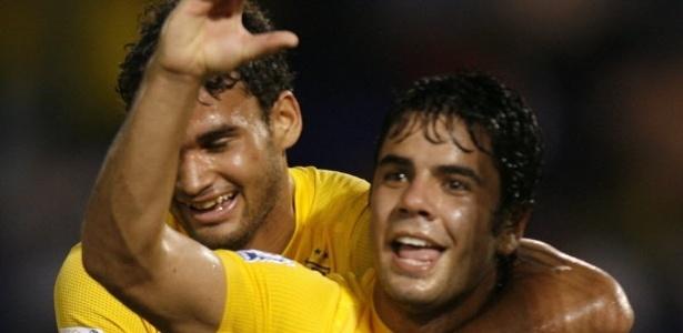 Henrique celebra o gol do Brasil no Mundial sub-20