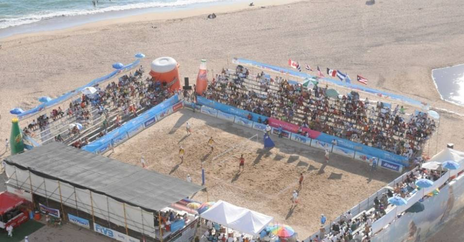 Estádio Pan-Americano de vôlei de praia