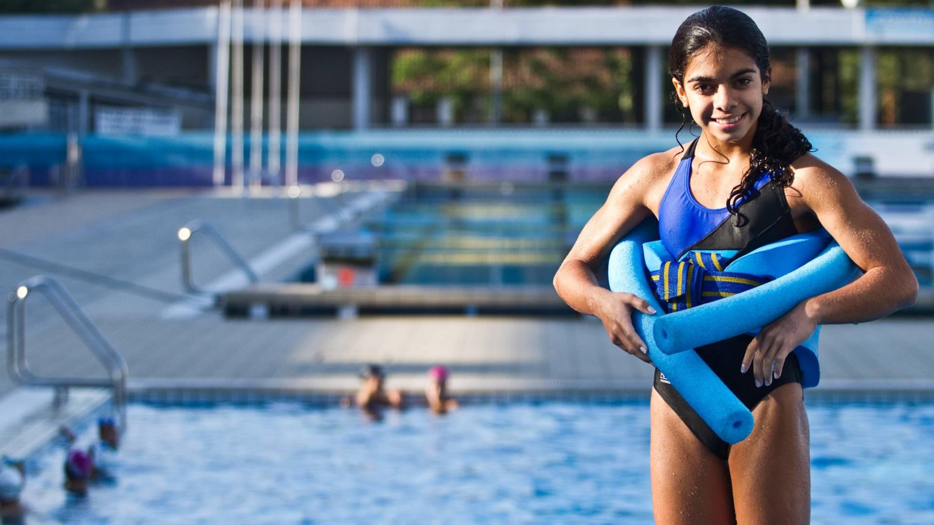 Andressa Mendes tem apenas 14 anos e irá ao Pan de Guadalajara