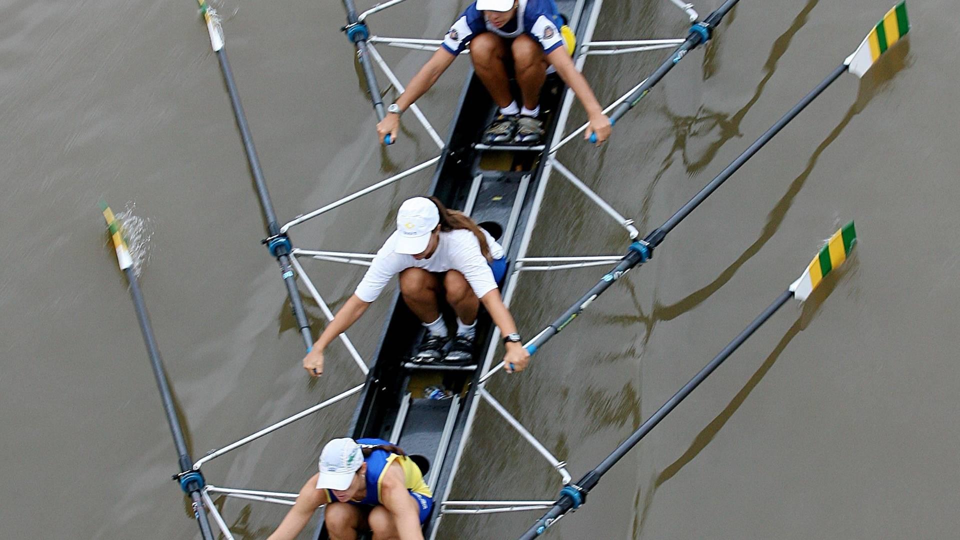 Fabiana Beltrame, Moniva Anversa, Renata Gorgen e Kissya Cataldo disputam seletiva para o Pan de 2007