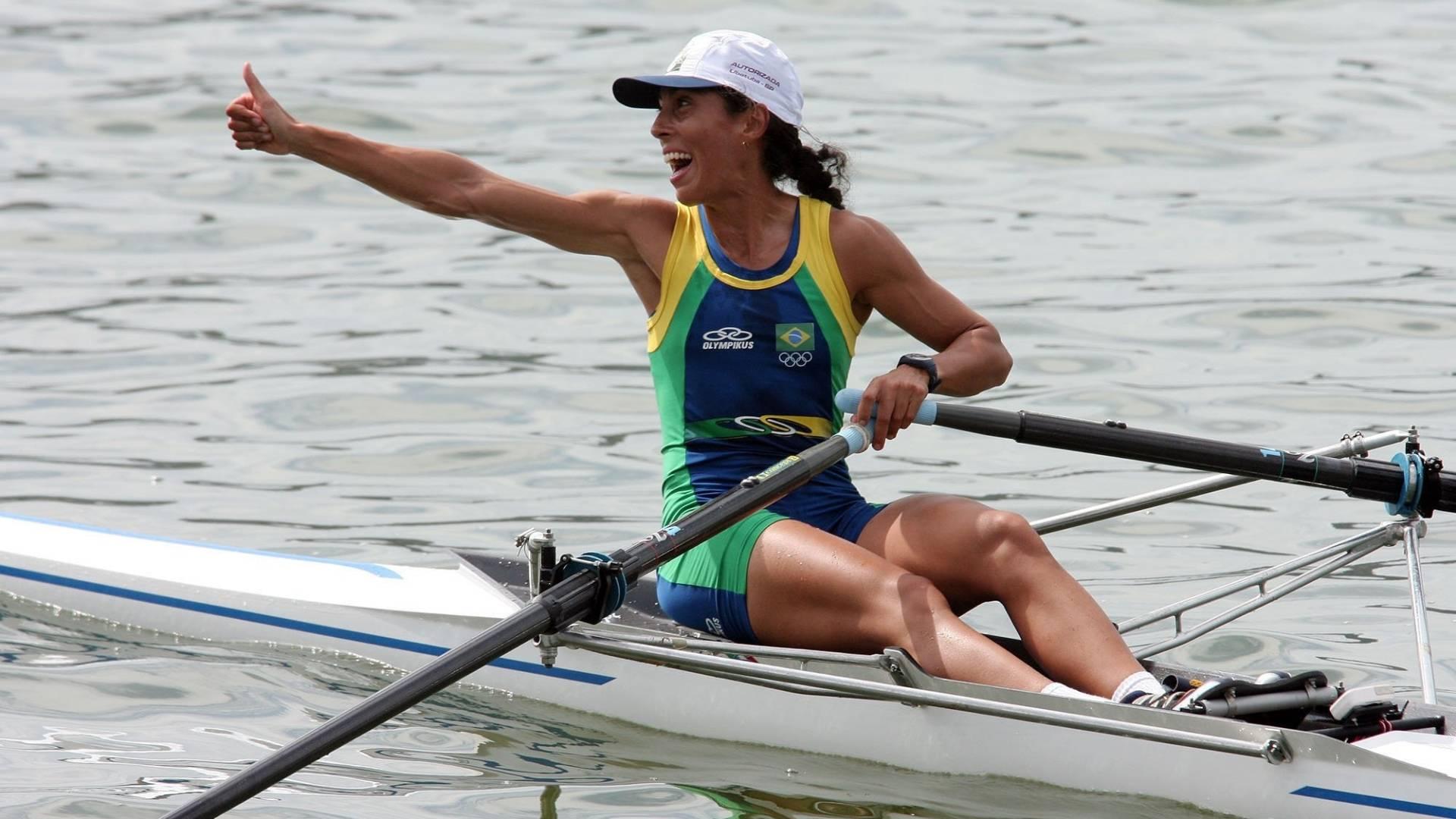 Remadora Luciana Granato em imagem de 2007