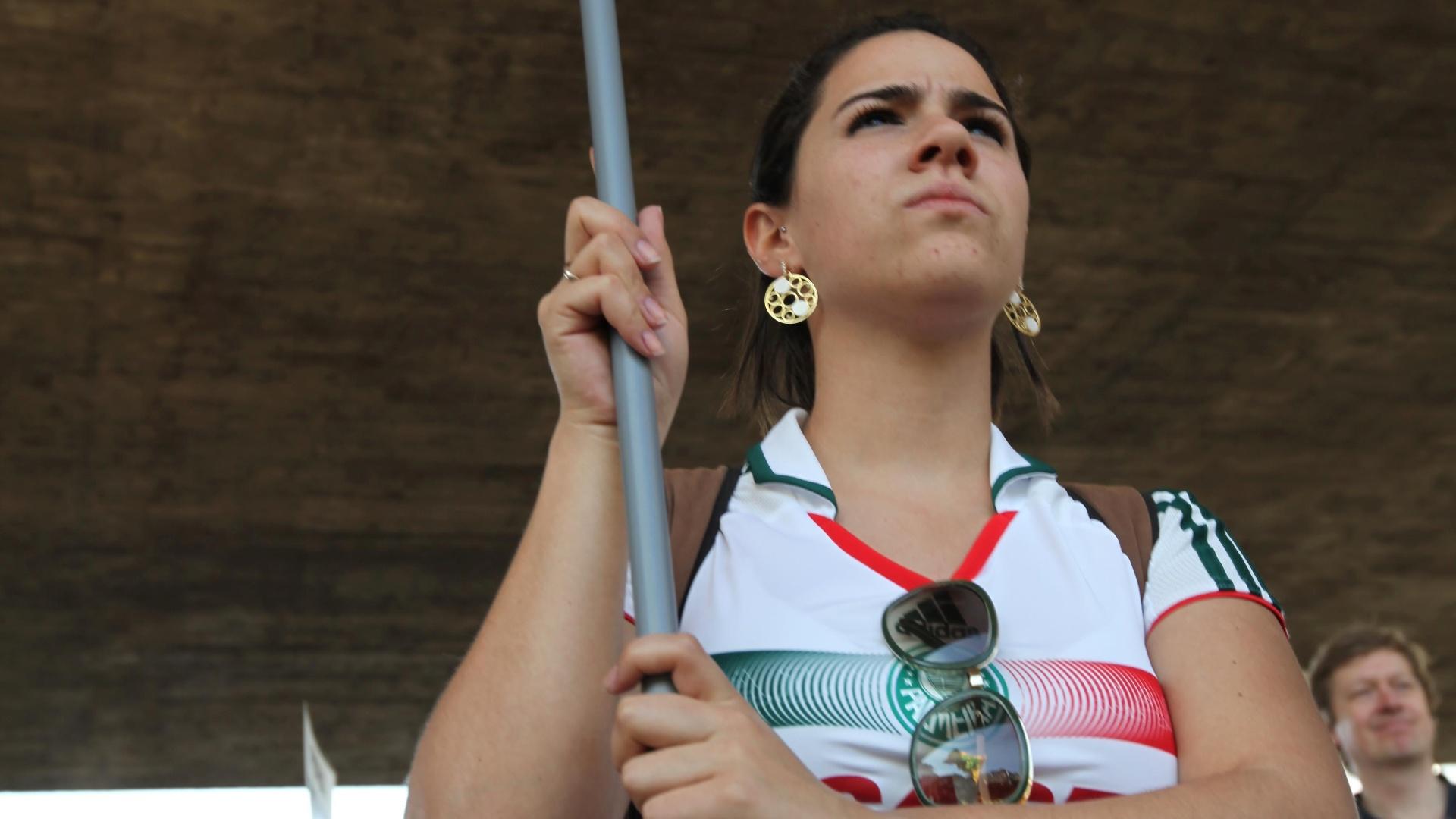 Palmeirense também adere ao protesto contra o presidente da CBF em São Paulo (13/08/2011)