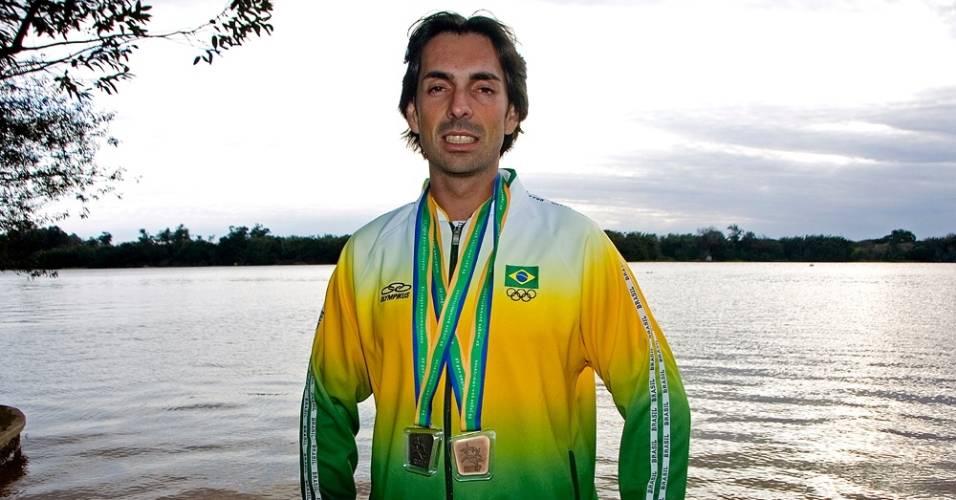 Allan Bitencourt é um dos classificados do remo para o Pan-2011