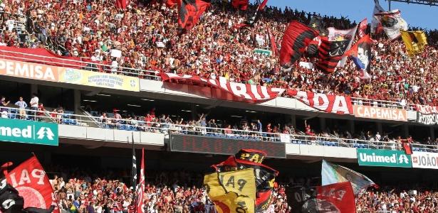 Torcida do Flamengo esgota ingressos para 1� semifinal contra Botafogo