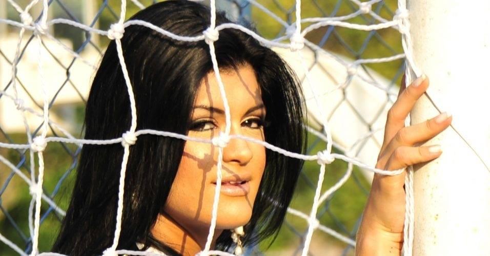 Camila Vernaglia, Gata do Brasileirão 2011 do Corinthians