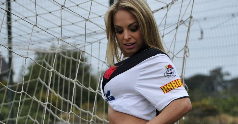 Jessica Lopes, gata do Vasco