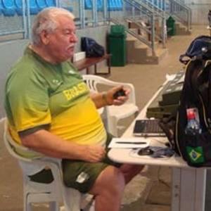 Ex-treinador da seleção brasileira de tiro esportivo, Gerhard Stamm morreu nesta segunda no Rio de Janeiro