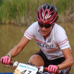 Erika Gramiscelli, ciclista brasileira que irá ao Pan