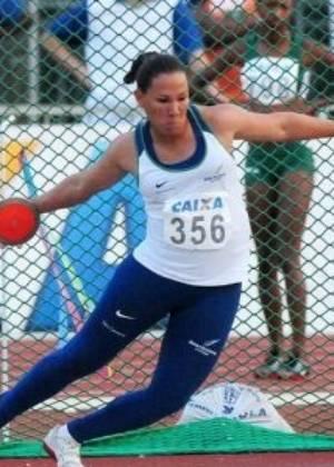 Fernanda Borges, atleta brasileira