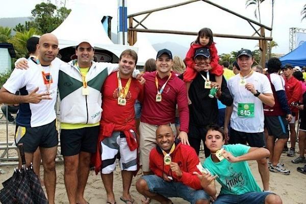 Você manda: Leonardo Soares Xavier, 25 anos, São Paulo (SP), após completar os 75Km da Maratona de Revezamento (Bertioga-Maresias)