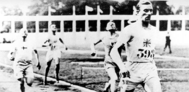 Final de prova do atletismo em Antuérpia, que teve 22 esportes em seu programa olímpico