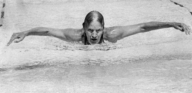 A brasileira Maria Lenk, que aprendeu a nadar no rio Tietê. foi a primeira sul-americana nas Olimpíadas