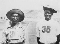 Em Saint Louis, os zulus Lentauw e Yamasani foram os primeiros africanos negros na história a disputar os Jogos Olímpicos