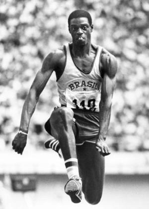 Recordista mundial do salto triplo, João Carlos de Oliveira, o João do Pulo, levou o bronze na Olimpíada de 1976