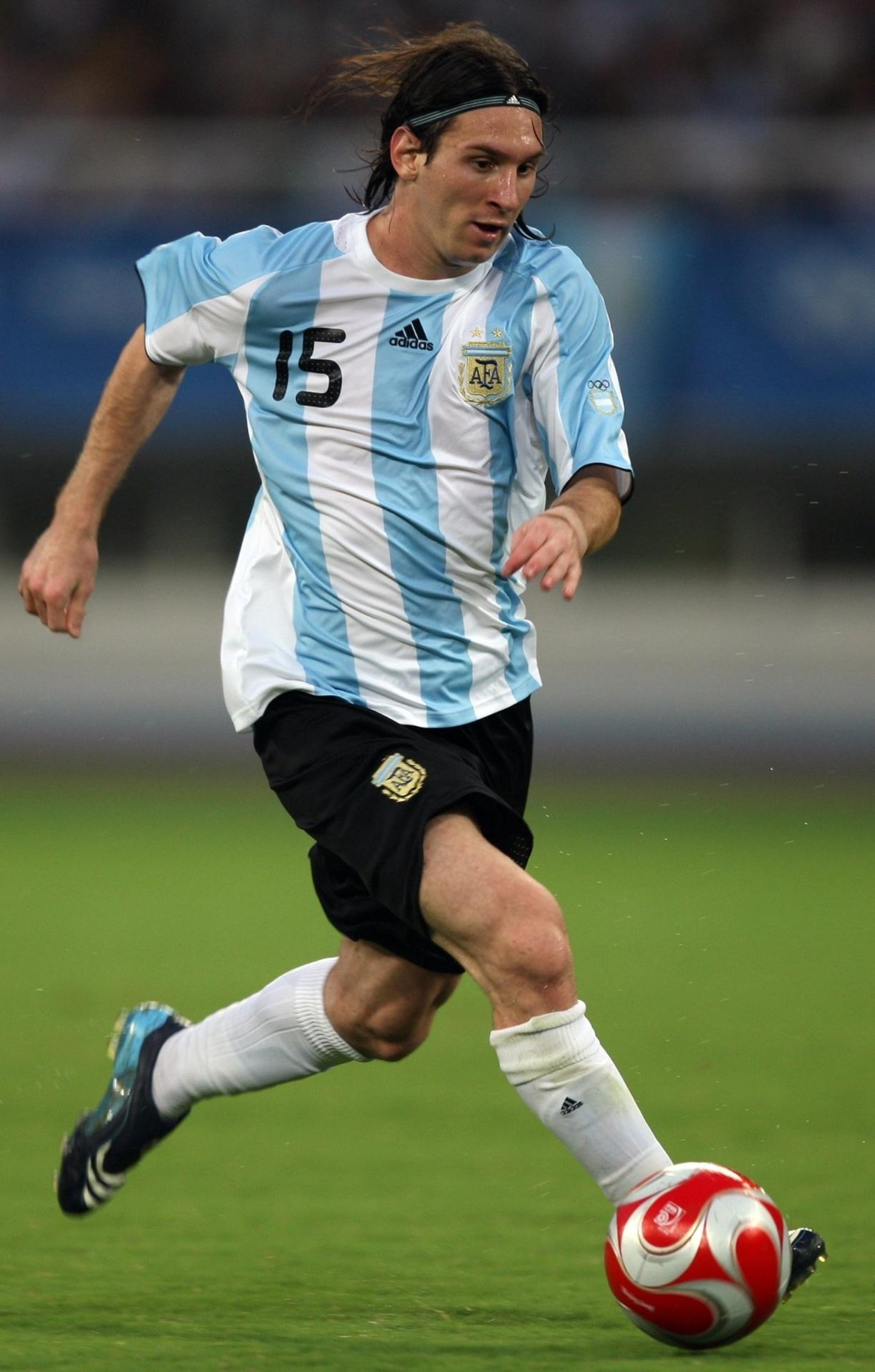 A Argentina de Messi foi bicampeã no futebol masculino nos Jogos Olímpicos de 2008
