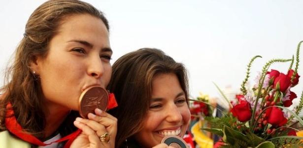 Isabel Swan e Fernanda Oliveira, as primeiras mulheres do Brasil a conquistar uma medalha olímpica na vela