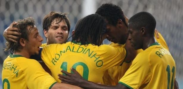 O inédito ouro no torneio olímpico de futebol não veio para a seleção brasileira, desta vez treinada por Dunga
