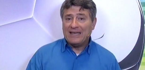 Cléber Machado, narrador da Rede Globo
