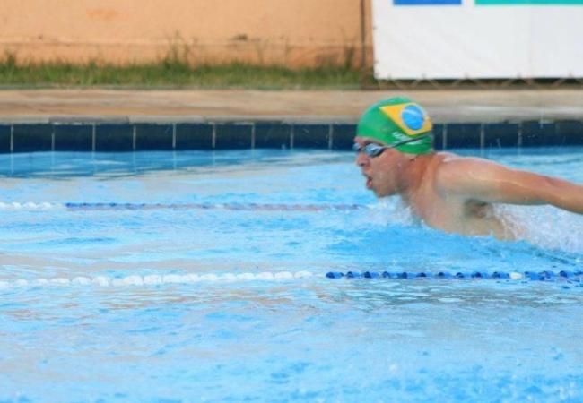 Você Manda: Ricardo Furtado Pacheco, 27 anos, Anápolis (GO), no Circuito Goiano de Natação