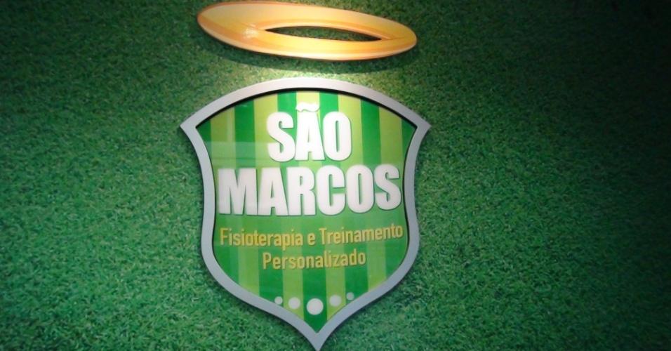 (27/09/2011) Goleiro Marcos, do Palmeiras, abre centro com seu apelido: 'São Marcos - Fisioterapia e Treinamento Personalizado'