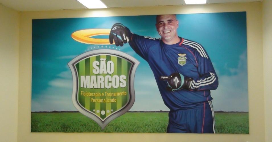 (27/09/2011) Goleiro Marcos, do Palmeiras, abre o centro de fisioterapia 'São Marcos' em um hotel na Zona Norte de São Paulo