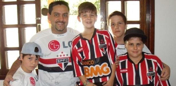 Dia das Crianças: a família Rezende unida pela paixão pelo São Paulo