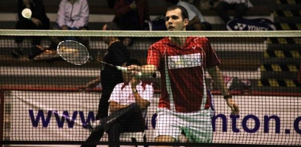 Daniel Paiola, atleta brasileiro do badminton (06/10/2011)