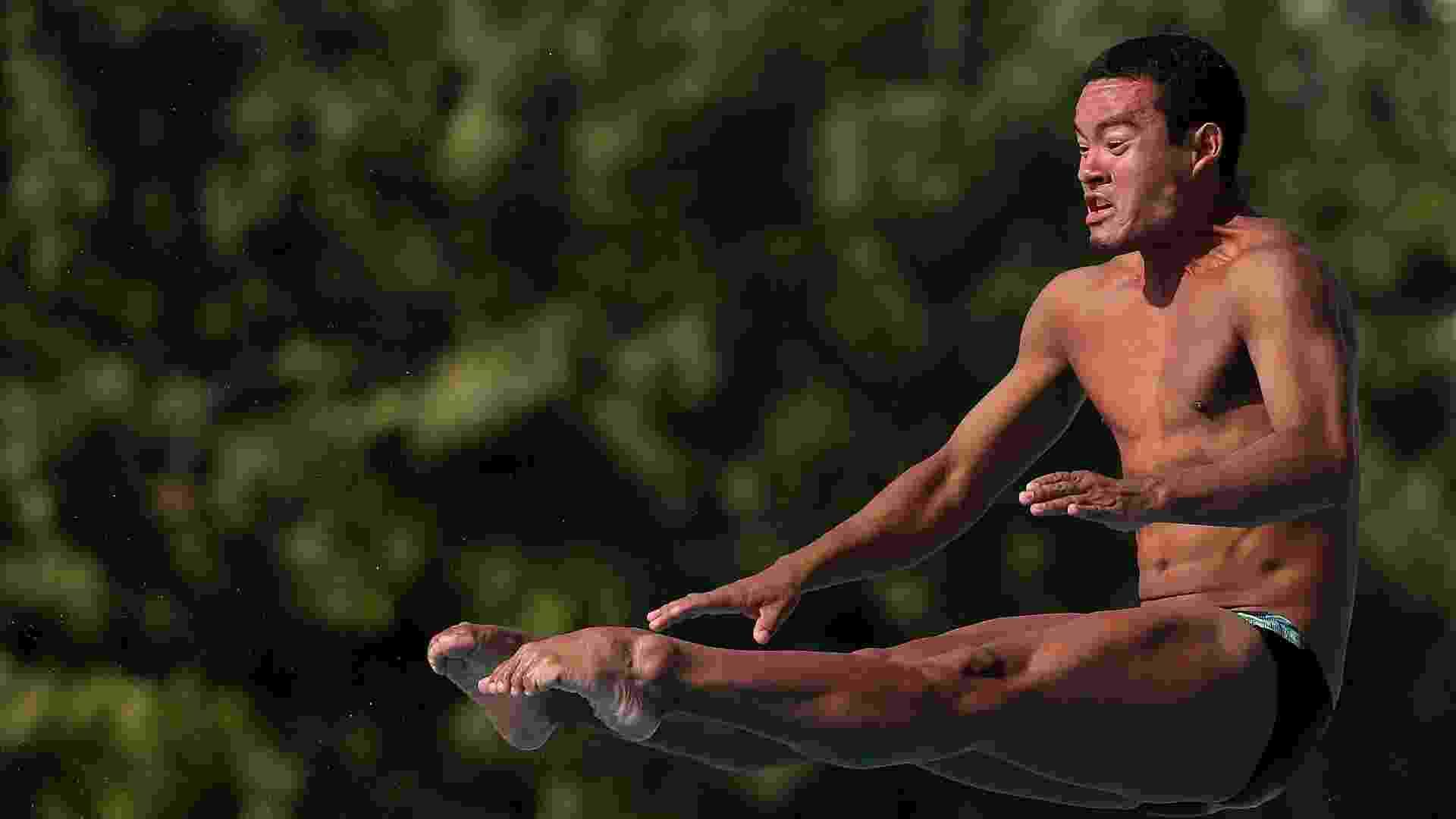 Ian Matos, integra a delegação brasileira de saltos ornamentais no Pan-2011 - Satiro Sodré/AGIF