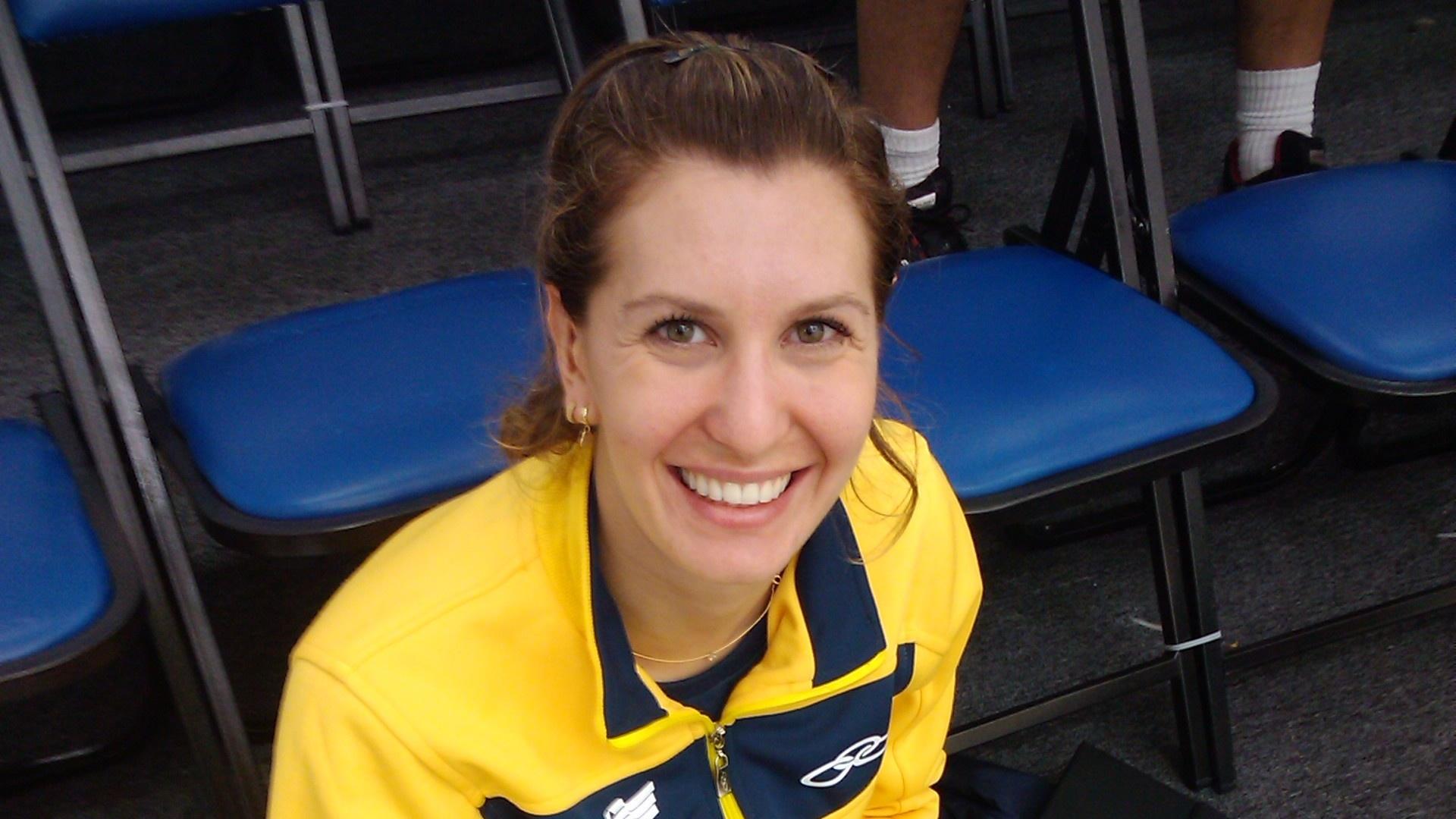 Mariana Pontalti, a atleta de squash que é médica e atende as companheiras de seleção