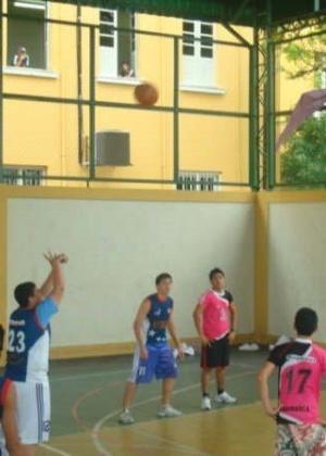 Você Manda: Ramon Nobrega. 20 anos, Manaus (AM), praticante de basquete, nos Jogos internos do Instituto de Educação do Amazonas