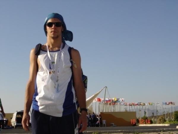 Você Manda: Silvio D'Avila, praticante de taekwondo, nas Olimpiadas Universitárias (Universíade), Turquia 2005