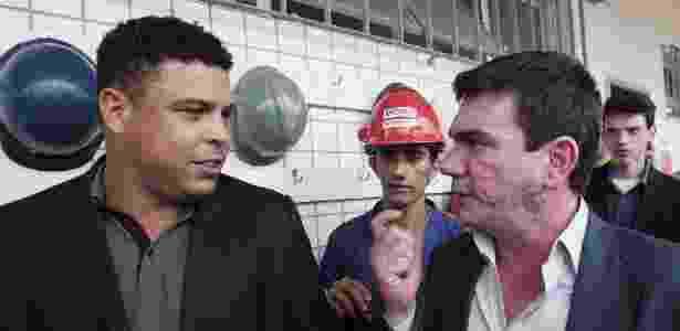 Ronaldo e Andrés - Rodrigo Paiva/UOL - Rodrigo Paiva/UOL