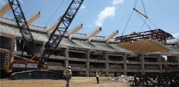 Marquise do Maracanã é retirada para construção de nova cobertura