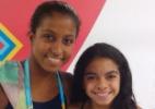 """Caçula do Brasil tem só 14 anos e diz que é confundida com """"filha de atleta"""" na Vila"""