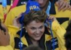 Medalhistas do Pan ensaiam brincadeiras, mas só bagunçam cabelo de Dilma