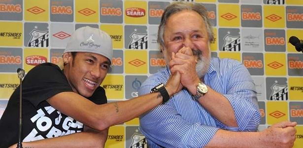 Santos não se importa de perder Neymar sem compensação financeira em 2014