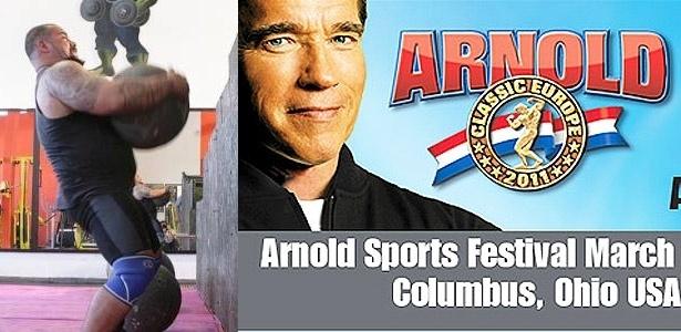 Marcos Mohai vai participar de competição de strongman em evento de Schwarzenegger