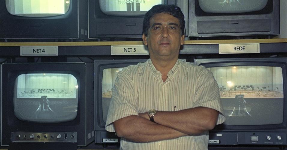 Narrador Galvão Bueno em 1993
