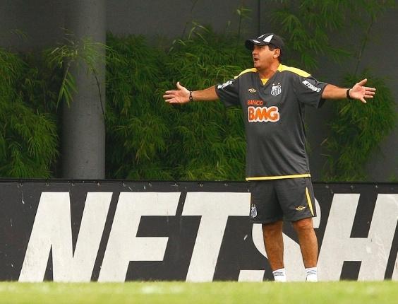 Nem mesmo o técnico Muricy Ramalho vai acompanhar a delegação do Santos em Fortaleza